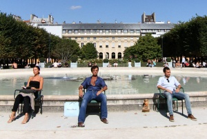 One Hot Day at the Palais Royale