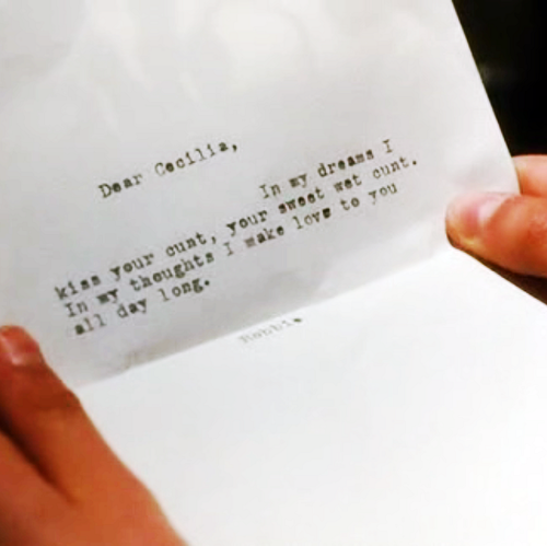 robbie's letter