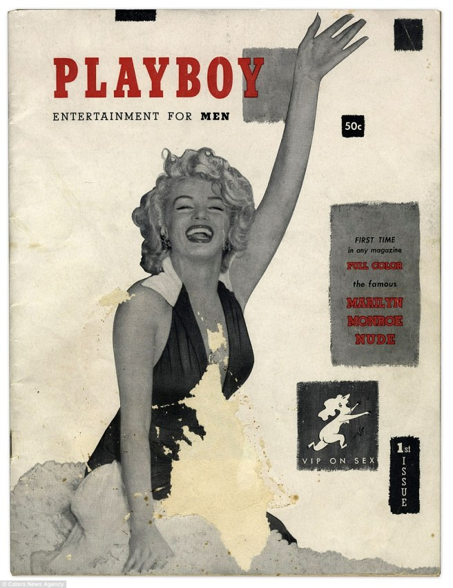 Playboy first cover
